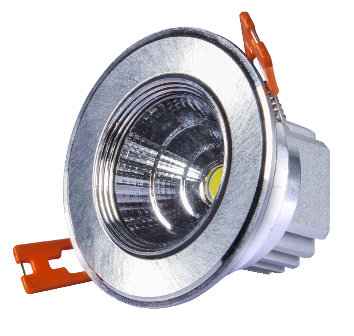 3W LED DOWN LIGHT SILVER