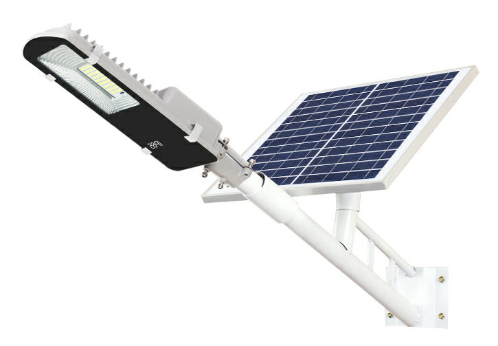 Solar street light: two-parts